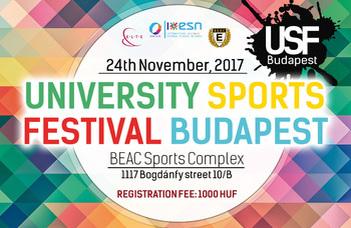 University sports festival Budapest 2017